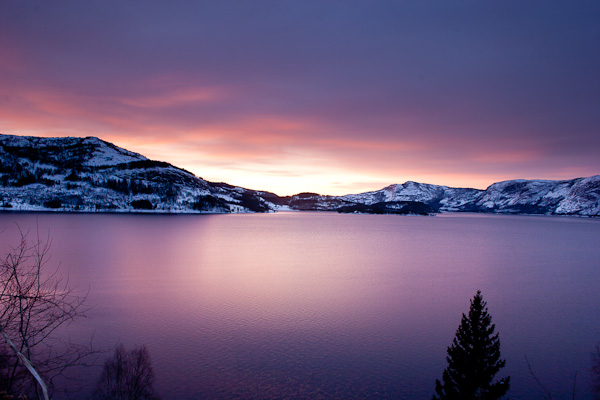 The final norwegian sunrise picture